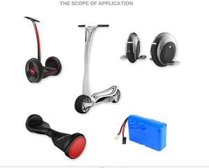 Image 5 - Deligreen 29.4V 2A chargeur de batterie Lithium Ion LiNCM chargeur pour 7 série chargeur électrique pour auto équilibrage scooter Hoverboard