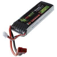 Leão de ouro Bateria 7.4V 2200mAh Li Po 25C Max 40C T Ficha Para RC Carro|Peças e Acessórios| |  -
