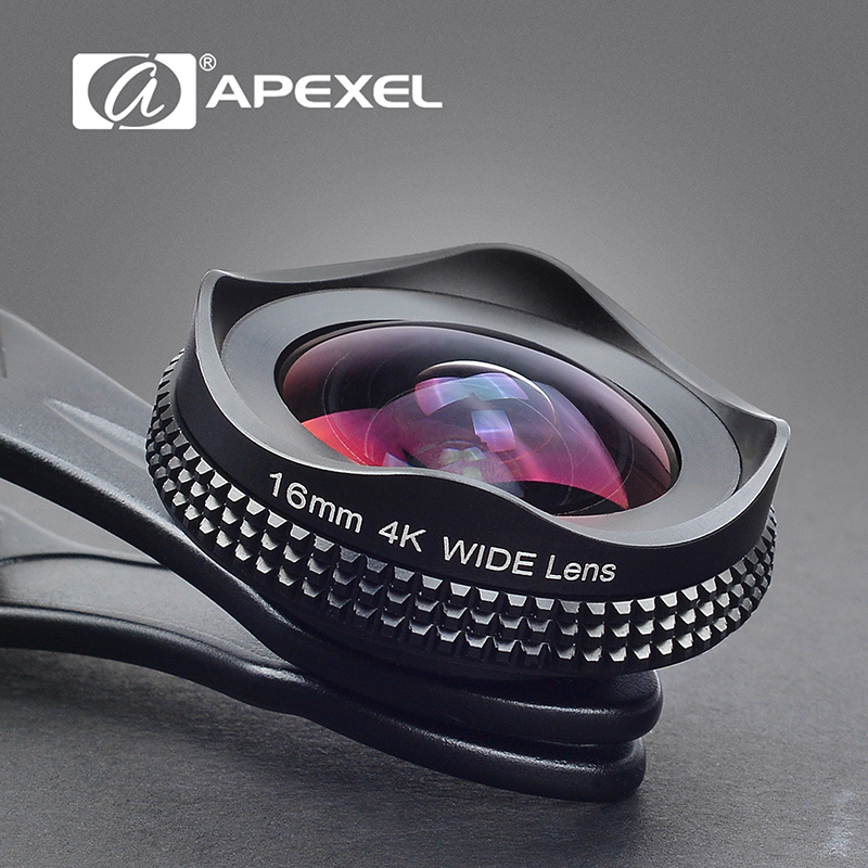 Ulanzi Apexel 16mm Wide Angle Phone Lens HD Pro 4K with
