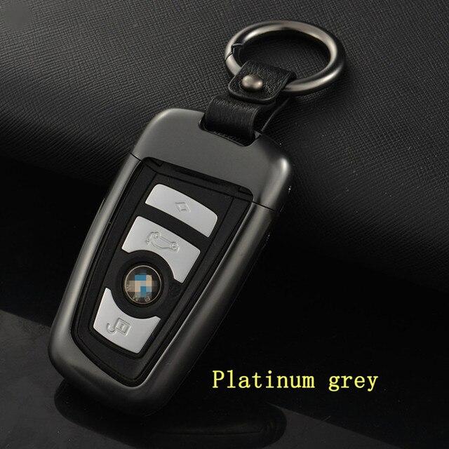 Высокое Качество Автомобиля стайлинг Мода Автомобиль Из Алюминиевого Сплава Случае Ключ Оболочки В Том Числе брелоки Для 1/3GT/4/5GT/6/7/X3/X4/M2/M4/M5/M6