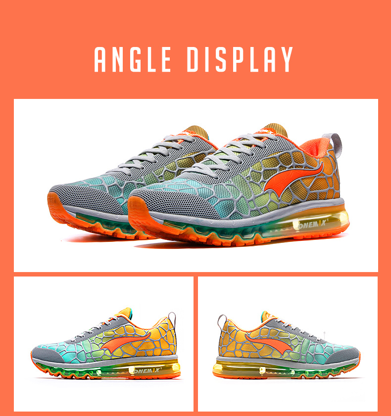 Foto of angel display men's running breathable shoes size 35-47. Men's running breathable sneakers size 35-47