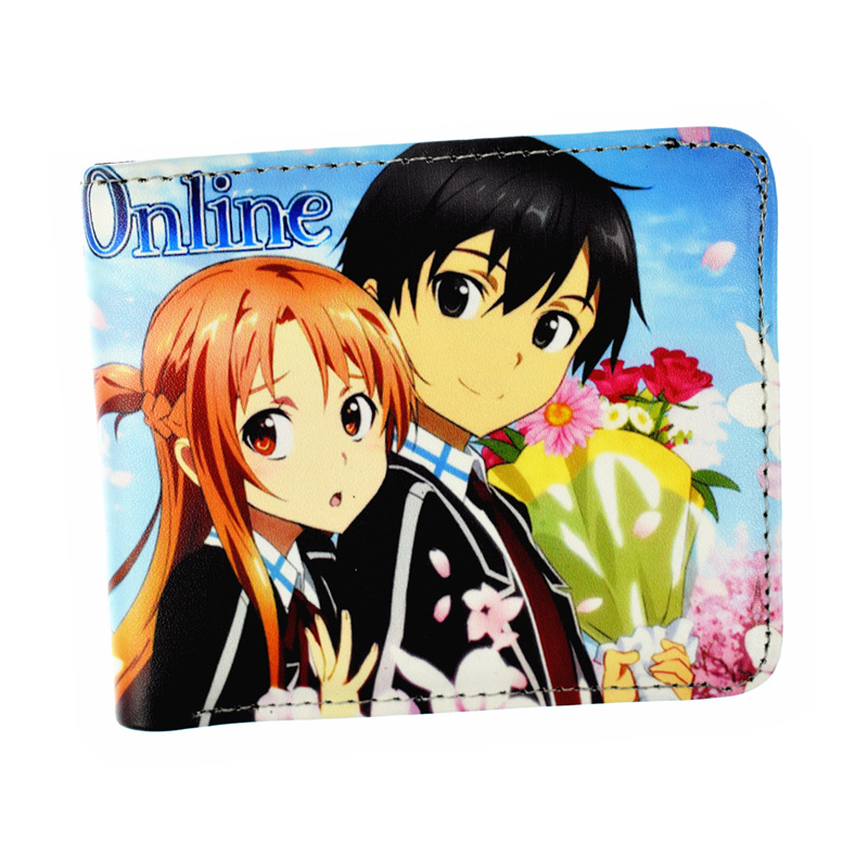 FVIP Game Sward Art Online Wallet Cute Short Purse for Young