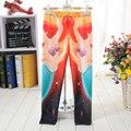 NUEVOS 1024 Niños Lindos Niños de Dibujos Animados Chica Camada princesa Sirena Ariel 3D imprime Leggings Elásticos de Fitness Pantalones de Entrenamiento
