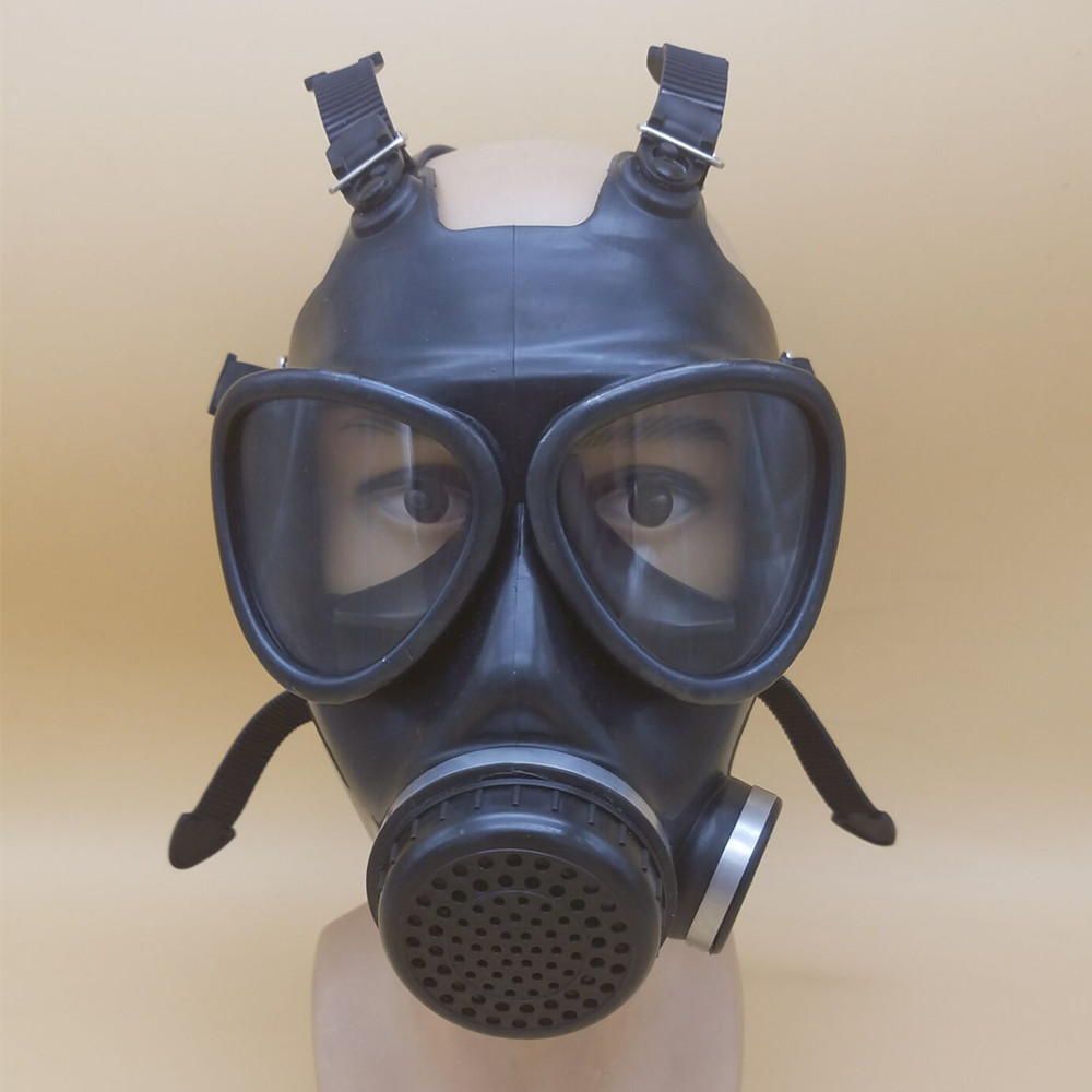 Respirador completo Wearable Borracha de Silicone Poeira   Máscara de  Protecção Contra A Poluição Poluição Industrial b7c02e34d2