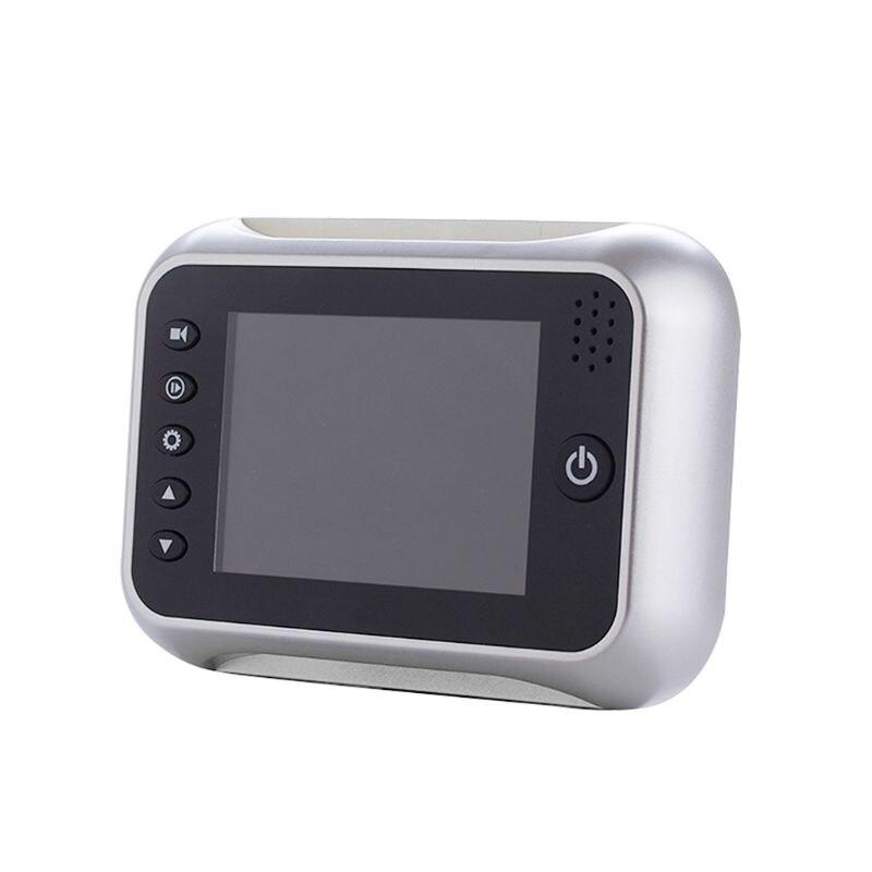3 5 LCD Color Screen Electronic Door Bell Viewer IR Night Door Peephole Camera Photo Video