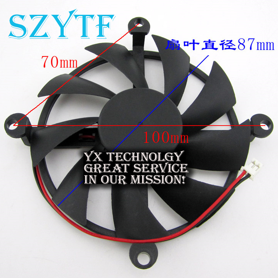 SZYTF  video card fanNew HD6790 HD6790 HD6850 12V Graphics card fan Diameter 87mm 4pin mgt8012yr w20 graphics card fan vga cooler for xfx gts250 gs 250x ydf5 gts260 video card cooling