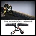 """Universal de La Motocicleta 7/8 """"22mm Mano Eléctrica Climatizada Caliente manejar Grips ATV Calentadores Manillar Grip Caliente de Temperatura Ajustable"""