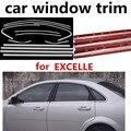 Оптовая продажа  автомобильный Стайлинг  защитная рамка для окна  отделка без колонны  нержавеющая сталь для Buick Excelle