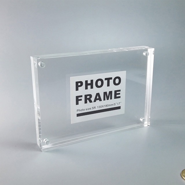 Online Shop (Pack of 10 units) A5 Magnetic Acrylic Photo Block ...