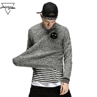 Aelfric Eden Mens Pullover Sweaters Colored Wool Knitted Sweater Pullover Men 2017 Male Brand Casual Slim