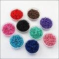 Новый 500 шт. соединительные кольца открытые разъемы черный, красный синий, розовый, небесно-голубой, зеленый, коричневый, смешанные 5 мм
