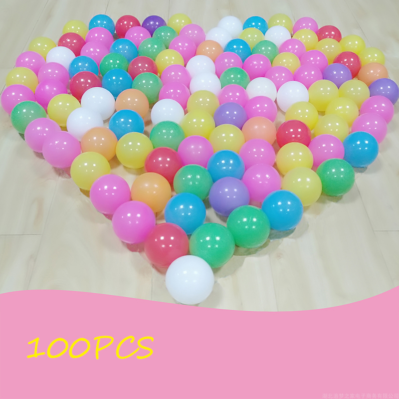 Balls for the Pool Baby Playpen100pc Wholesale Pit Balls Colored Plastic Fencing For Children Baby Fence