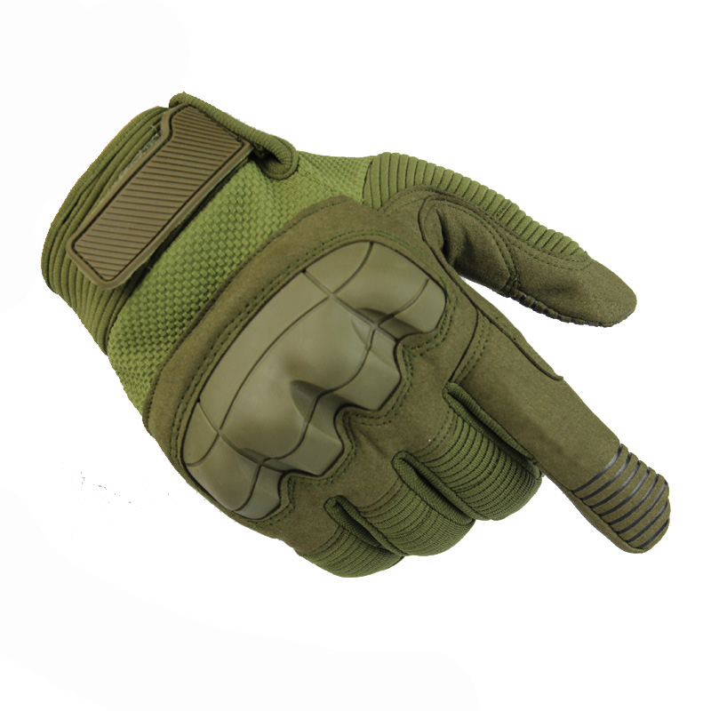 Good Military Equipment Tactical Gloves Armed Mittens Outdoor Sport Full Finger Gloves For Hunting Cycling Climbing 3 Colors