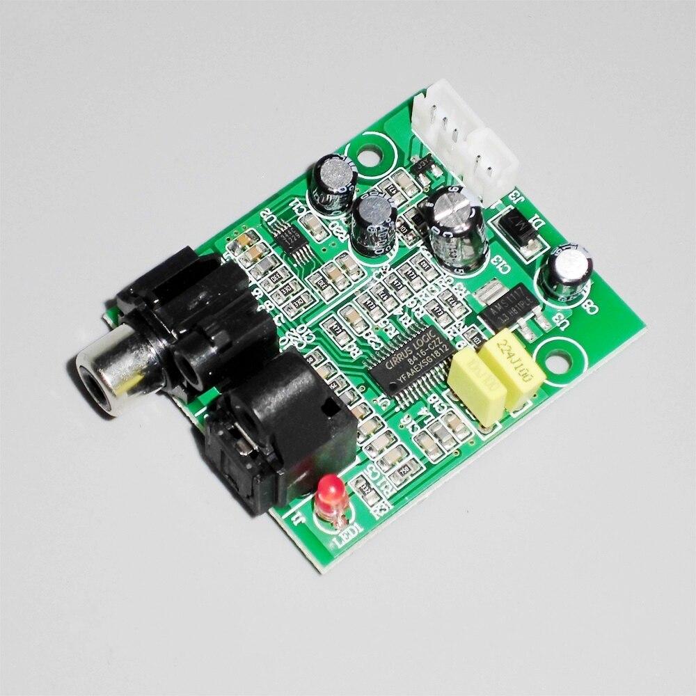 Цифровой декодер DAC 24 бит 192 кГц оптический оптоволоконный коаксиальный цифровой вход сигнала стерео аудио выход Decod для усилителя ПК ТВ|Цифро-аналоговые преобразователи (ЦАП)| |  - AliExpress