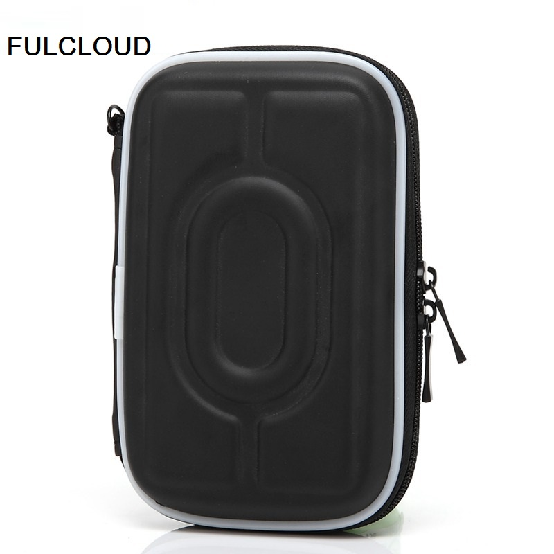 FULCLOUD for WD/Seagate/Samsung/Toshiba EVA waterproof shockproof mobile hard disk pack 2.5  digital mobile bag containing bag ...