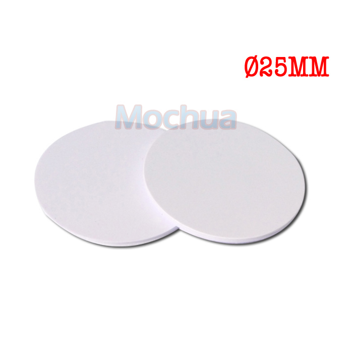 NFC Tag NTAG215 Disc Tag PVC With Ntag215 Round Tag For Tagmo