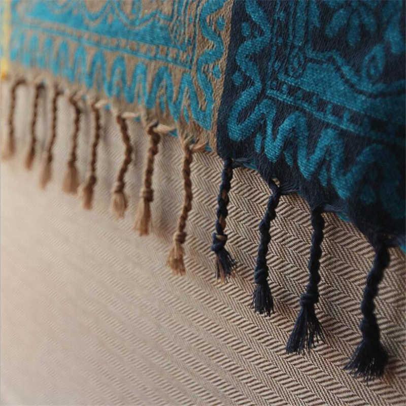 Chenille Cobertor Americano para Sofá Slipcover Sofá Decorativo Costura Estilo Europeu de Alta Qualidade Avião Viagem Cobertor Saudável