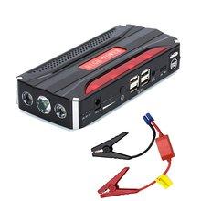 68800 мАч автомобиль скачок стартер Портативный 4 USB Автомобильное Питание Перезаряжаемые Мощность банка Высокая Мощность Батарея аксессуар Горячая распродажа!