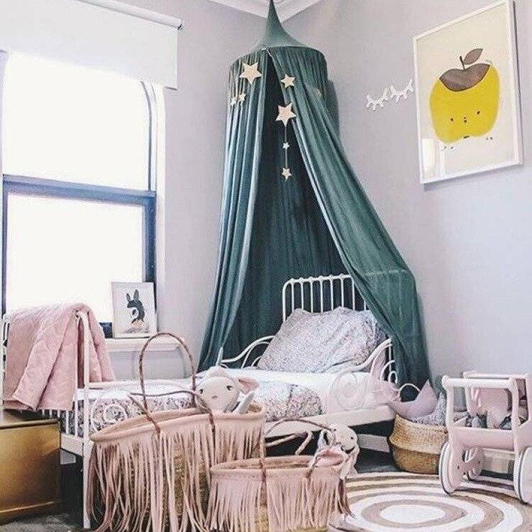 ins caliente beb juguete carpa infantil porttil malla nios cama accesorios para toldos plegables en cunas