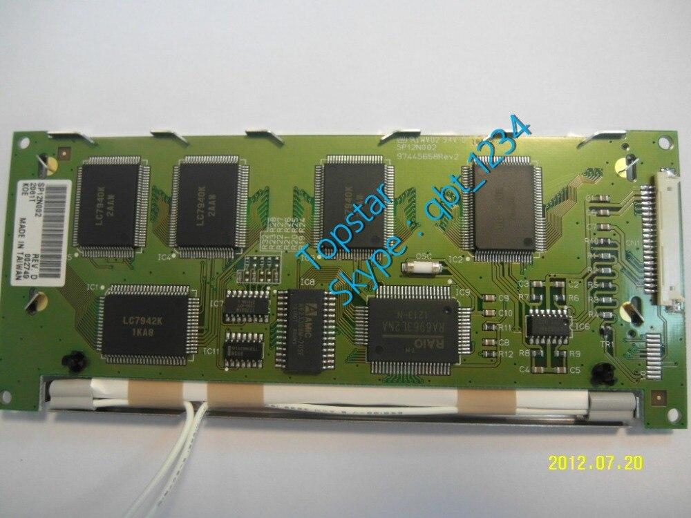 Original 4.8 inch SP12N002 Grade A+ LCD Panel industrial screen