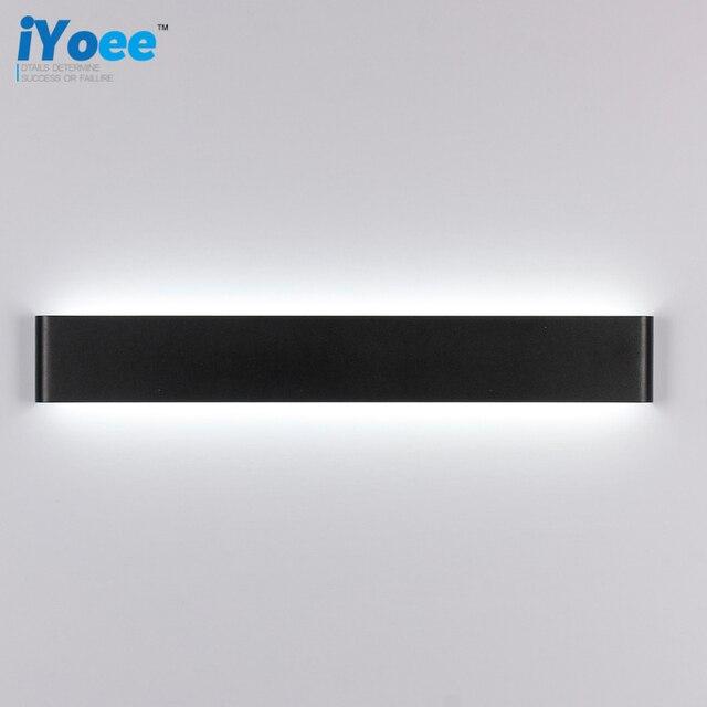 Schlafzimmer Lampe Wand #22: Modern Style Schlafzimmer Wand Lampen 24 Watt 72 Cm Lange Weiß/Schwarz  Farbe Led Toilette