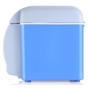 Image 2 - 12v 7.5Lミニポータブルカー冷蔵庫冷凍庫多機能クーラーウォーマー熱電電気冷蔵庫自動コンプレッサー