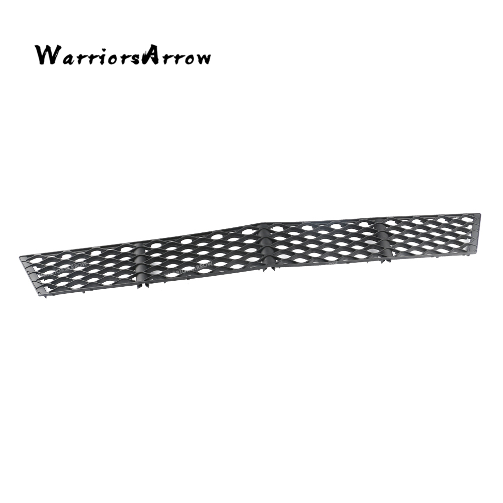WarriorsArrow Front Center Bumper Lower Grille Cover For Mercedes-Benz W211 Facelift E280 E350 E550 E63 2007-2009 2118850122 image