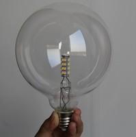 G125 Led E27 Edison Bulb Energy Saving Super Bright Vintage Edison Led Bulb G125 Transparent Light