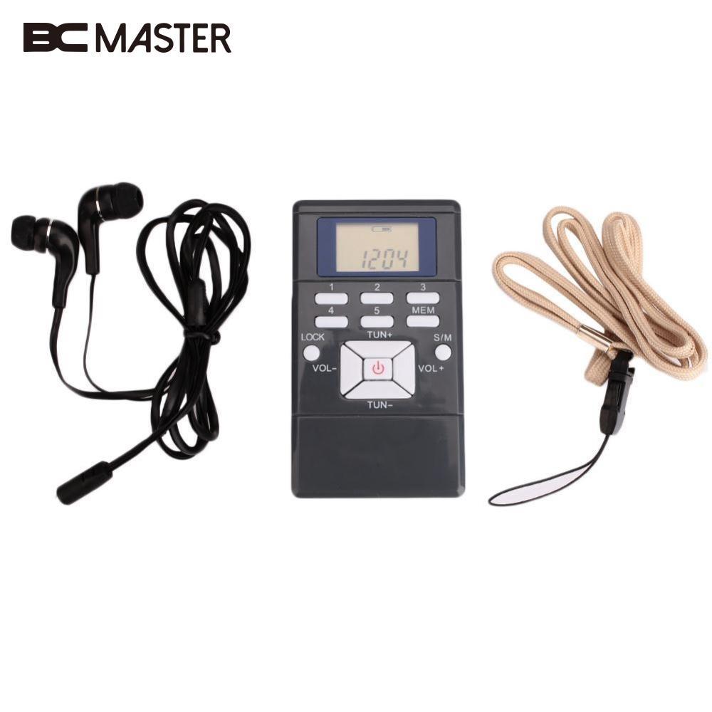 BCMaster Դյուրակիր մինի ռադիո Բարակ - Դյուրակիր աուդիո և վիդեո - Լուսանկար 6