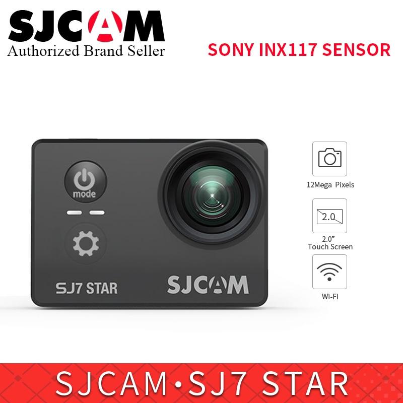 D'origine SJCAM SJ7 Action Star Caméra Ultra HD 4 k yi WiFi Sport DV 2.0