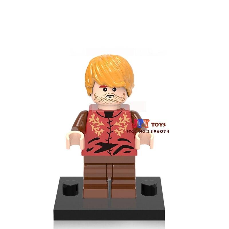 50pcs superhero Game of Thrones TV Tyrion building blocks bricks friends for girl boy Gift kids children toys brinquedos menina