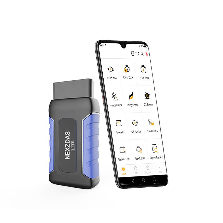 Bluetooth Professional OBDII Scan Tool for iPhone