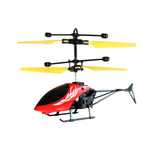 Kids Toys Mini Helicopter Remote Control RC Drone Flash Light Induction Aircraft Gift BM88