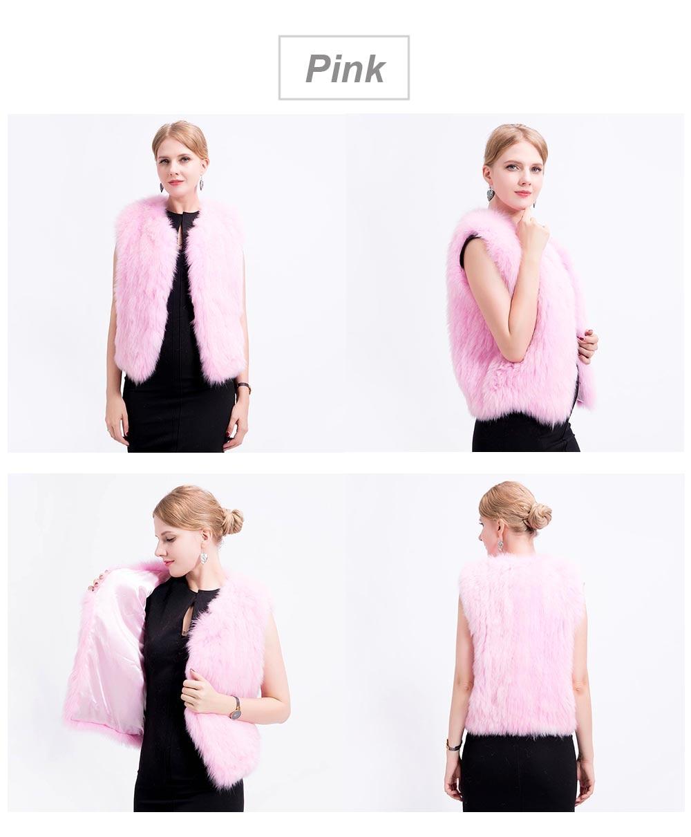 shorter knit fox vest color 2