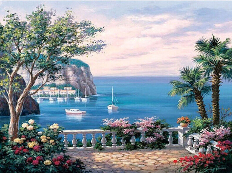красивые картинки с приморским пейзажем дает очень