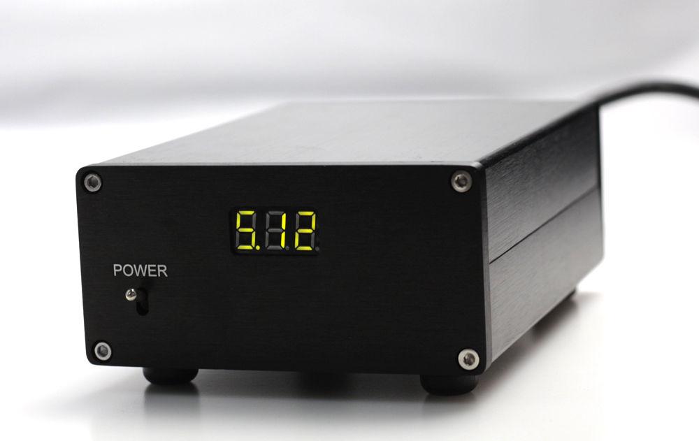 HIFI 25W DC5V linear Power supply with display for USB DAC Raspberry Pi PSU