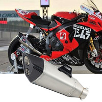 51 мм Универсальный для Yoshimura глушитель для мотоцикла Escape для Kawasaki ZX 6R 10R BMW S1000RR SUZUKI GSX R600 R750 YO012