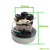 1 piece Handle 500W Vacuum Cleaner Motor for karcher for philips for electrolux for Midea Haier Rowenta Sanyo Universal Motors