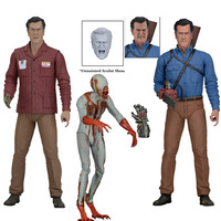 Movie cartoon character toys NECA American drama The Evil Dead Ash vs evil dead 7 inch movable action figure model