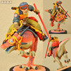 Cool 6 Dragon Ball Z GOKU Son Gokou Riding The Dinosaur Ver Boxed PVC Action Figure