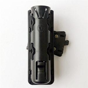 Image 5 - 360 Graden Rotatie GAS Baton Holster Extensible Black Baton Houder Case Pouch voor outdoor politie baton telescopische zelfverdediging