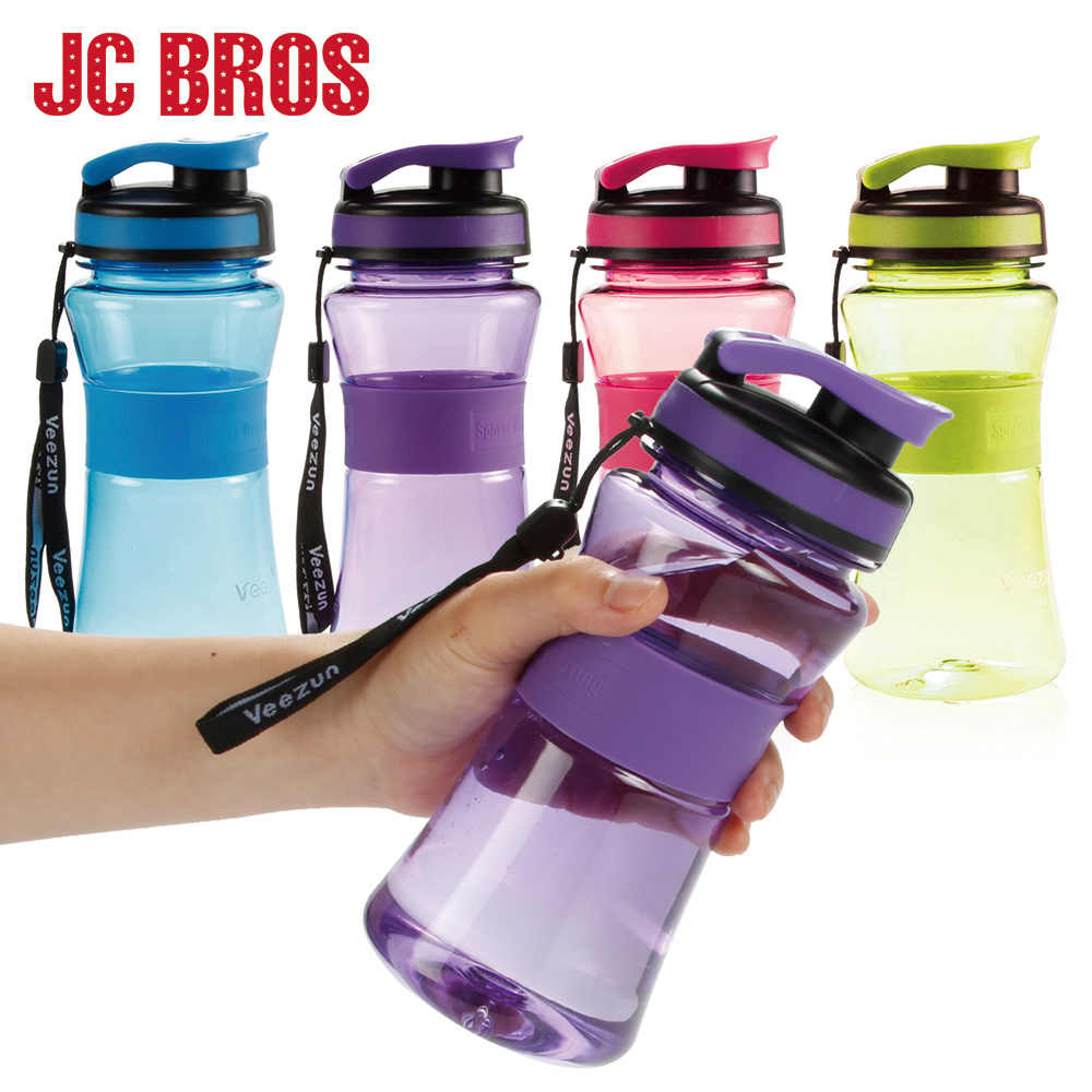 550ML Plastic BPA Free Water Bottles Bicycle Sport Drinking Bottle Portable Adult Hiking Travel Children School Use  Bottle