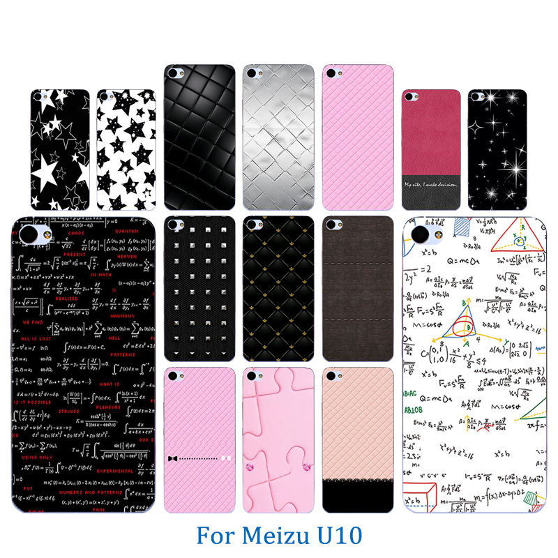 For Meizu U10 Case Silicone Cover Soft TPU Coque Colorful Pattern 5.0 inch Covers fundas mobile Phone Bag for meizu u10