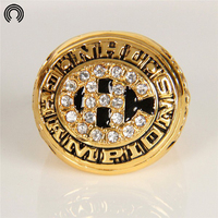 Factory Sales 1977 Replica Ice Hockey Montreal Canadiens Championship Ring For Fans Free Shipping