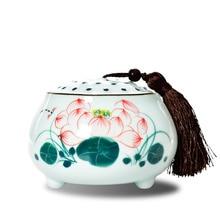 11 2017 China Storage Bottles High-grade ceramic tea canister Gift storage jar Tea caddy Sugar Bowl Salt shaker longquan celadon
