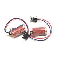 10 pçs/lote Original Novo MAXELL ER17/33 Baterias 3.6V 1600mAh Bateria De Lítio PLC controle industrial com Preto plug (ER17/33)