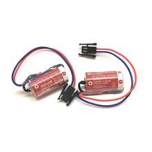 10pcs/lot New Original MAXELL ER17/33 3.6V 1600mAh PLC industrial control Lithium Battery Batteries with Black Plug (ER17/33) стоимость