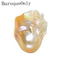 BaroqueOnly natural freshwater pearl high luster big size naked beads irregular pearl diy necklace making meteorites series B150