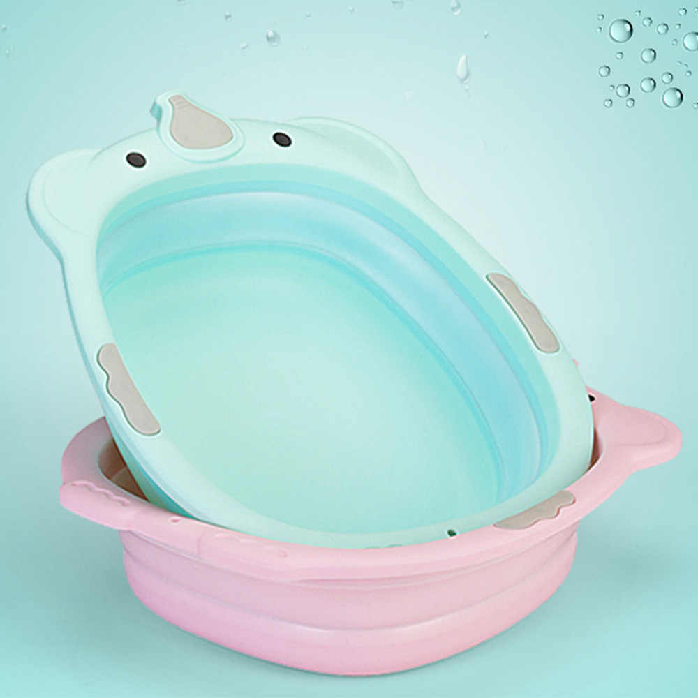 Складная детская Небольшая Ванна, умывальник, детские пластиковые ванны для ухода за ребенком