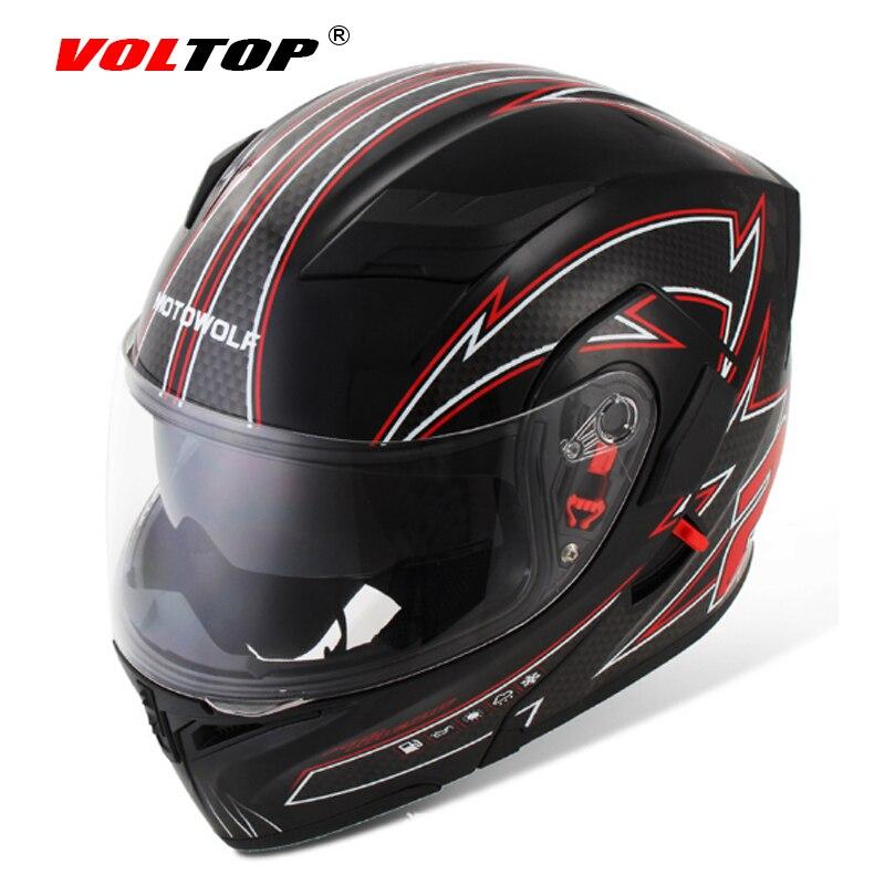 Полный VOLTOP лицом шлемы мотоцикла чоппер с защитные очки солнцезащитный козырек Солнцезащитные головные уборы шлем Мото Открытый шлем шлем защиты головы